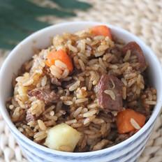 羊肉土豆焖饭
