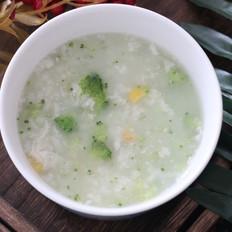 虾皮蔬菜粥