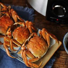 清蒸螃蟹有讲究