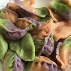 炫彩鲅鱼水饺
