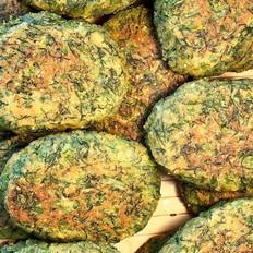 茴香玉米饼