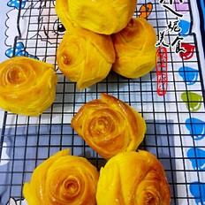 南瓜玫瑰面包