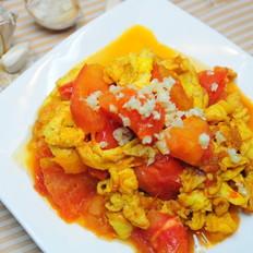 番茄炒鸡蛋--附切西红柿不流汤和去皮的方法