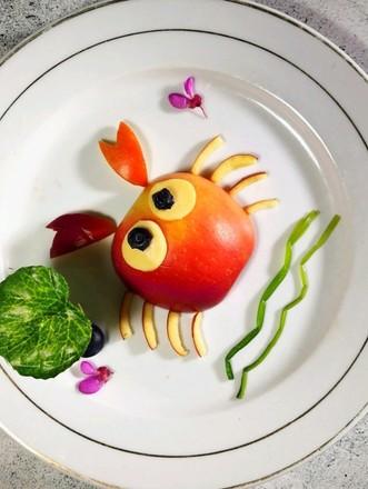 苹果螃蟹的做法