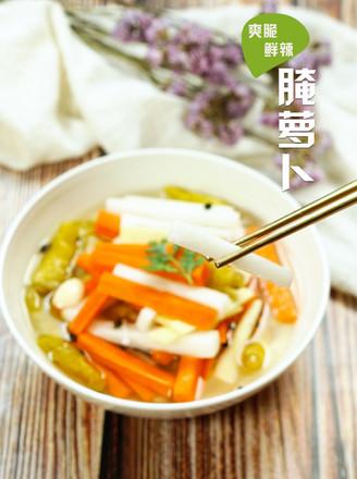 腌萝卜的做法