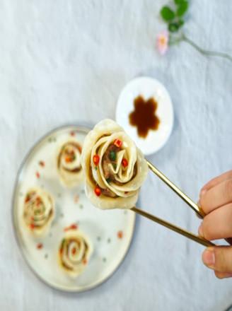 玫瑰花蒸卷的做法