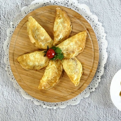 煎蛋饺的做法
