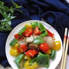 彩椒炒回锅肉