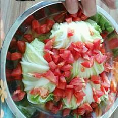 肉蒸白菜卷