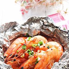 胡椒烤大虾