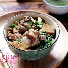 腐竹蚝油焖鸭