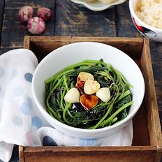蒜油香拌苋菜