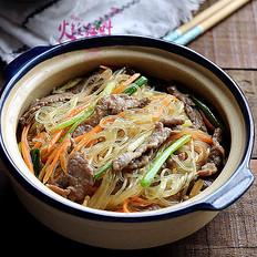 牛肉咖喱煮粉丝