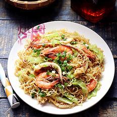 海鲜咖喱炒米粉
