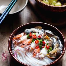 杂锦海鲜濑粉