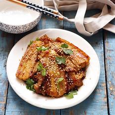 咖喱煎五花肉