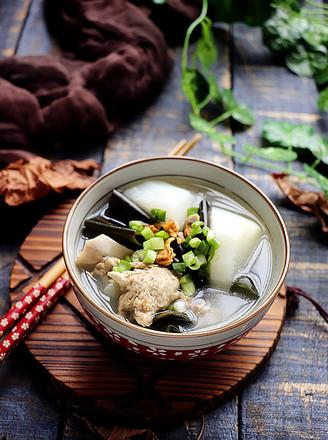 淡菜海带萝卜汤的做法