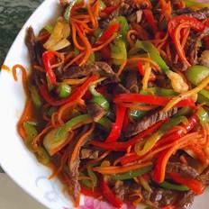 牛肉炒三丝