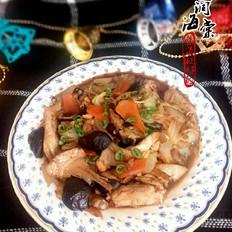 白菜炖鱼腩