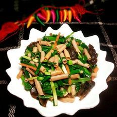 韭菜炒海肠