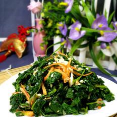 凉拌山野菜