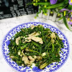 水芹菜炒肉