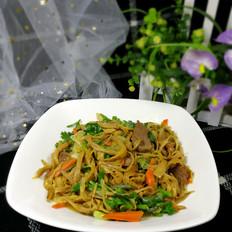 黄花菜炒牛肉