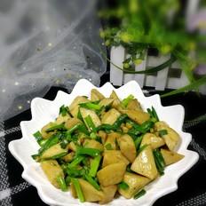 韭菜炒杏鲍菇