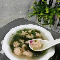 虾丸紫菜汤