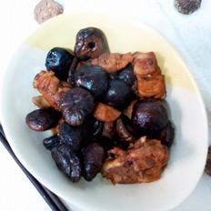 香菇烧排骨