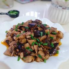 香菇烧肉片