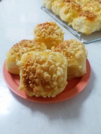 酥脆奶香软面包的做法