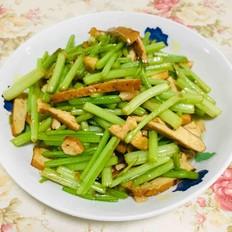 芹菜炒酱干