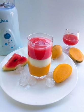 多彩果汁的做法