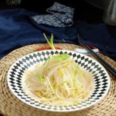 银芽拌魔芋#晚餐#