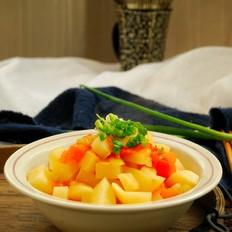 番茄土豆丁#午餐#