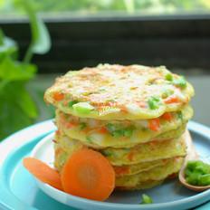 鸡蛋蔬菜早餐饼
