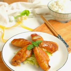 蚝油焖鸡腿