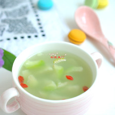润燥祛火丝瓜汤