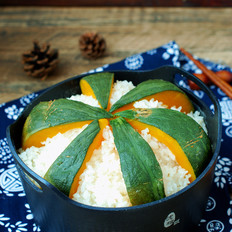 南瓜香米饭
