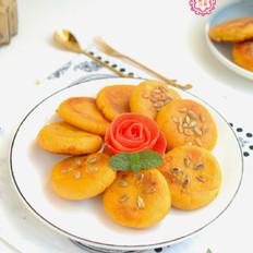 红薯蜜豆饼