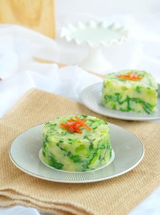 小白菜炒土豆泥的做法
