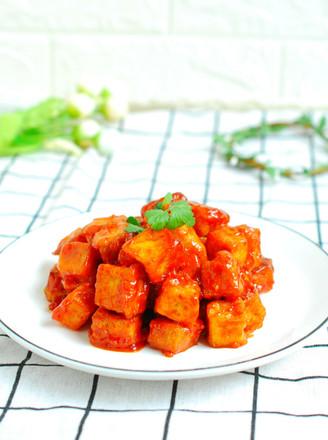 番茄脆皮豆腐的做法