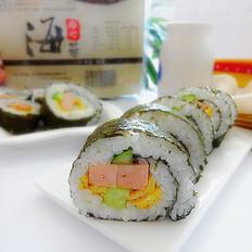 火腿紫菜饭卷