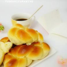 烤制奶香麻花