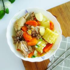 杂蔬炖小鸡