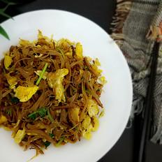 黄花菜炒蛋