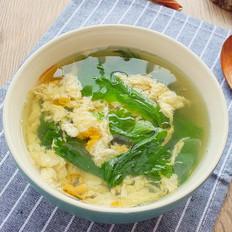 芹菜叶鸡蛋汤