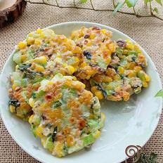 香菇玉米小饼