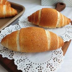 全麦芝麻盐面包
